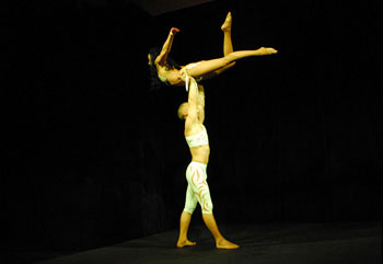 Duo Pospelov - Acrobatic duo - Adagio